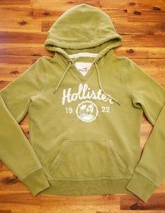 Hollister sage green hoodie